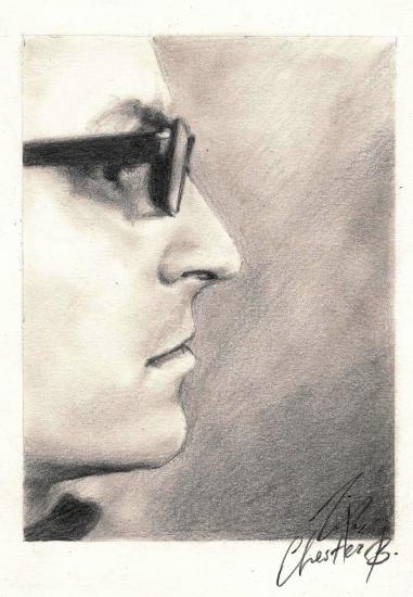 Chester Bennington by ZipFonMolko